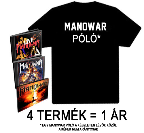 Manowar - Blow Your Speakers csomag