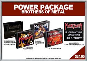 Manowar, Brothers Of Metal csomag