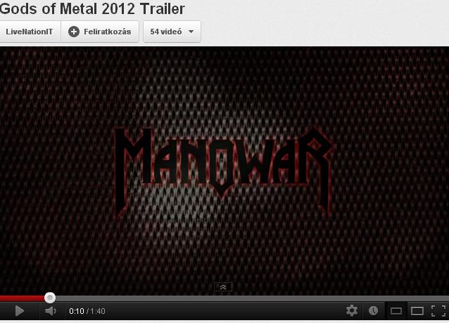 Gods of Metal 2012 Trailer