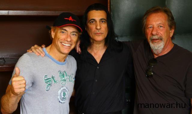 """A MANOWAR bejelentette az új mozi projektjét a """"Feláldozhatók 2"""" egyik sztárjával Jean-Claude Van Damme-mal"""