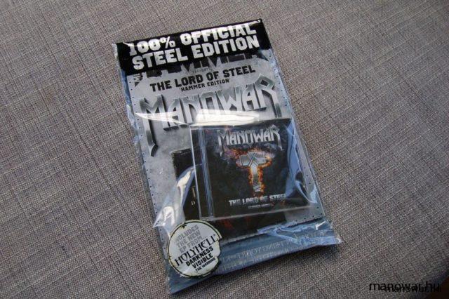 MANOWAR – The Lord Of Steel – Hammer Edition képek