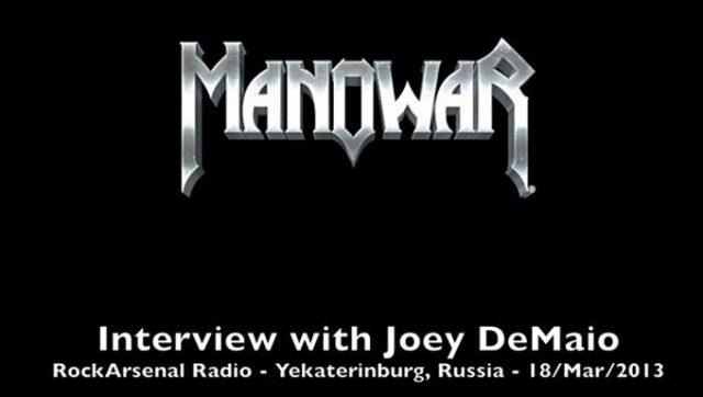 A RockArsenal Radio interjúja Joey DeMaio-val