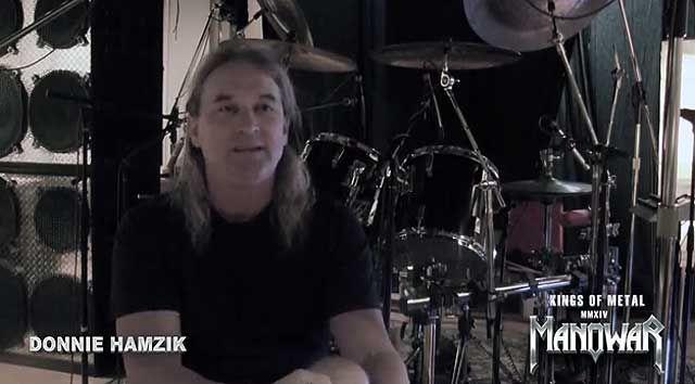 KINGS OF METAL MMXIV –  Donnie Hamzik videó interjú