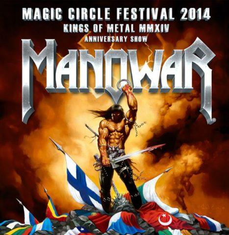 A MANOWAR bejelenti 2014 első Szabadtéri Fesztivál dátumát