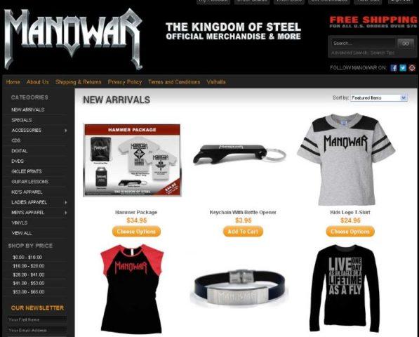 Fekete Péntek kiárusítás az amerikai The Kingdom Of Steel webshopban