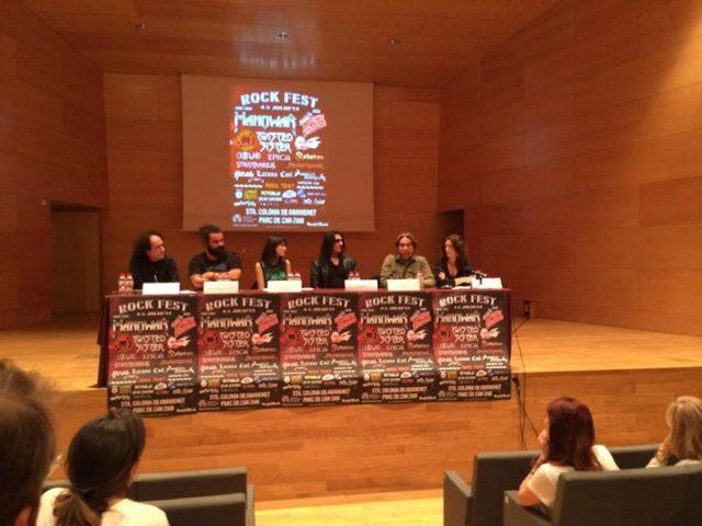 MANOWAR koncert a Rock Fest BCN fesztiválon