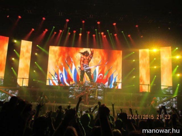 Az ostravai MANOWAR koncerten készült képek